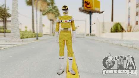 Power Rangers In Space - Yellow для GTA San Andreas второй скриншот