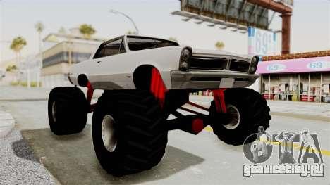 Pontiac GTO Tempest Lemans 1965 Monster Truck для GTA San Andreas