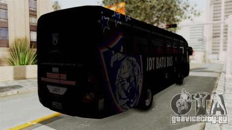 Marcopolo JDT Batu Bus для GTA San Andreas вид сзади слева