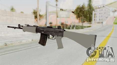 IOFB INSAS Grey для GTA San Andreas второй скриншот