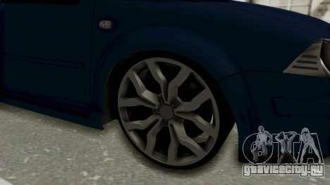 Volkswagen Bora 1.8T для GTA San Andreas вид сзади