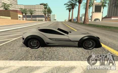 Felino CB7 для GTA San Andreas вид сзади слева