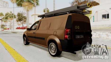 Dacia Logan MCV Van для GTA San Andreas вид слева