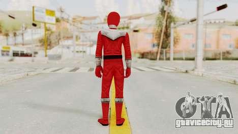 Power Rangers Time Force - Red для GTA San Andreas третий скриншот