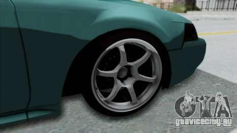 Ford Mustang 1999 Drift Falken для GTA San Andreas вид сзади