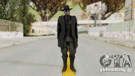 MGSV Phantom Pain SKULLFACE No Mask для GTA San Andreas второй скриншот
