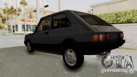 Fiat 147 Spazio TR для GTA San Andreas вид справа