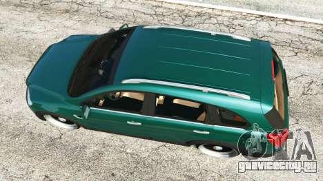 Chevrolet Captiva 2010 для GTA 5 вид сзади
