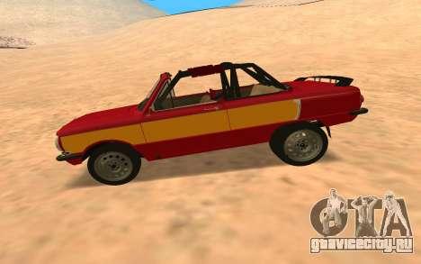 ЗАЗ-968 Offroad Style для GTA San Andreas вид слева
