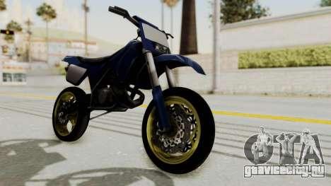 New Sanchez v1 для GTA San Andreas вид сзади слева