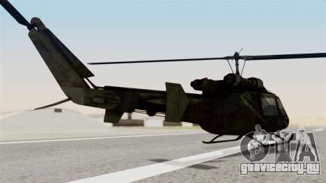 Castro V Attack Copter from Mercenaries 2 для GTA San Andreas вид слева