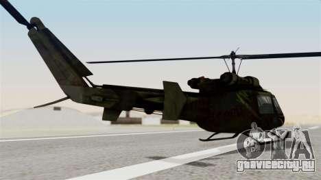 Castro V Attack Copter from Mercenaries 2 для GTA San Andreas вид слева