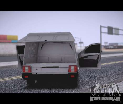 Lada Priora Stok Budka для GTA San Andreas вид сзади слева
