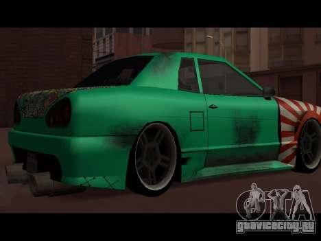 Elegy Paintjob JDM для GTA San Andreas вид слева