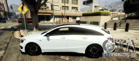 Mercedes-Benz CLA 45 AMG Shooting Brake для GTA 5 вид слева