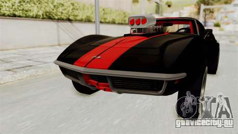 Chevrolet Corvette Stingray C3 1968 Drag для GTA San Andreas