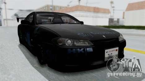 Nissan Silvia S15 RDT для GTA San Andreas вид справа