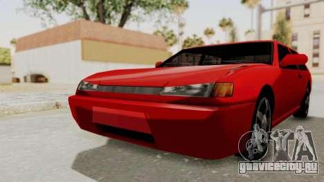 Flash Sport для GTA San Andreas вид справа