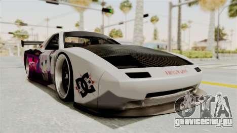 Mazda RX-7 FC Itasha для GTA San Andreas вид справа