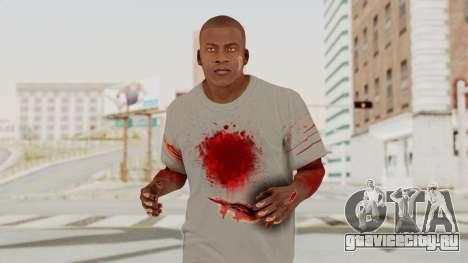 GTA 5 Franklin Zombie Skin для GTA San Andreas