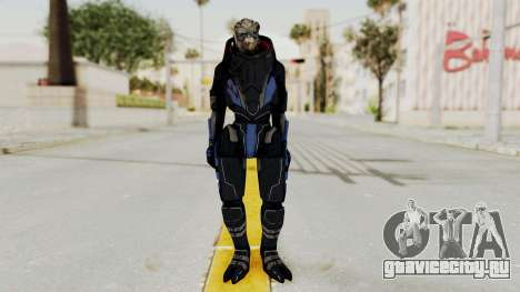 Mass Effect 2 Garrus для GTA San Andreas второй скриншот