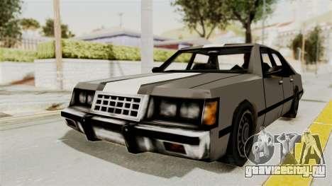Stanier Turbo для GTA San Andreas вид сзади слева