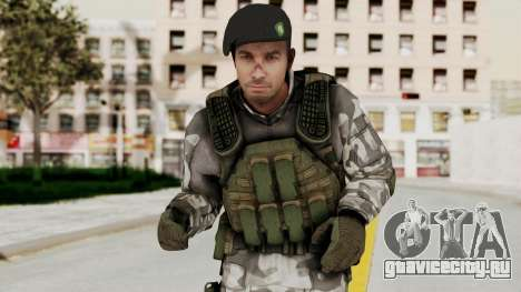 Black Mesa - HECU Marine Beret для GTA San Andreas