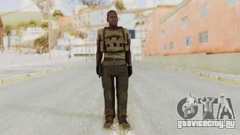 MGSV Phantom Pain RC Soldier T-shirt v2 для GTA San Andreas второй скриншот