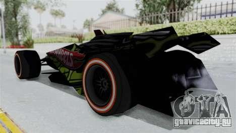 Bad to the Blade from Hot Wheels для GTA San Andreas вид слева