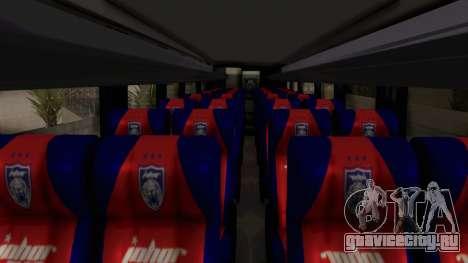 Marcopolo JDT Batu Bus для GTA San Andreas вид сзади