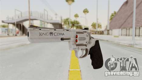 Colt .357 Silver для GTA San Andreas