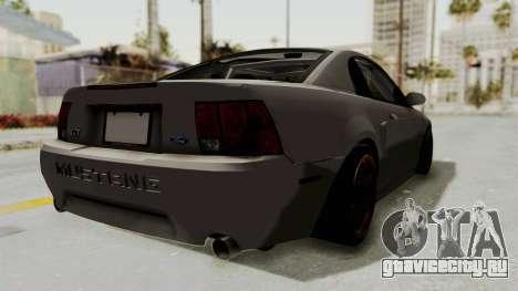 Ford Mustang 1999 Drift для GTA San Andreas вид слева