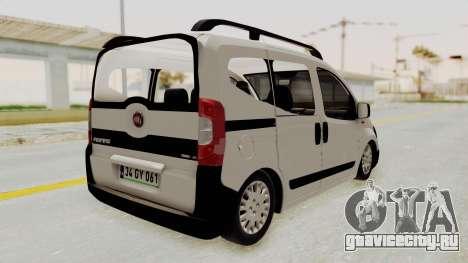 Fiat Fiorino 2014 для GTA San Andreas вид слева