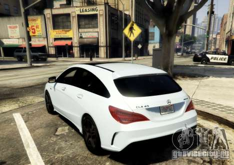 Mercedes-Benz CLA 45 AMG Shooting Brake для GTA 5