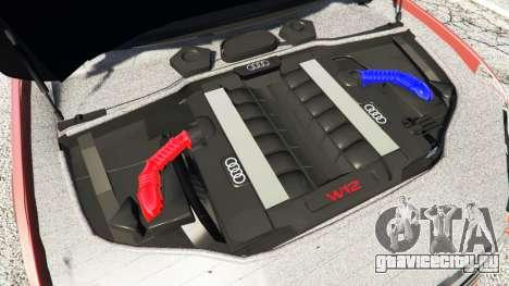 Audi A7 2015 для GTA 5 вид спереди справа