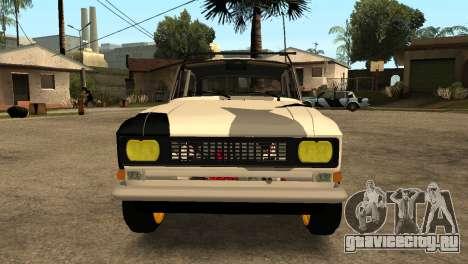 АЗЛК 412 для GTA San Andreas вид слева