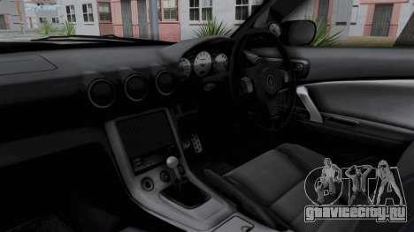 Nissan Silvia S15 RDT для GTA San Andreas вид изнутри