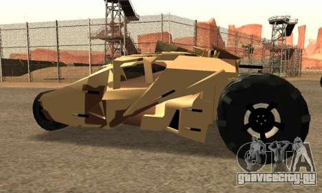 Army Tumbler Rocket Launcher from TDKR для GTA San Andreas
