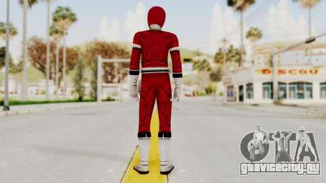 Power Rangers Turbo - Red для GTA San Andreas третий скриншот