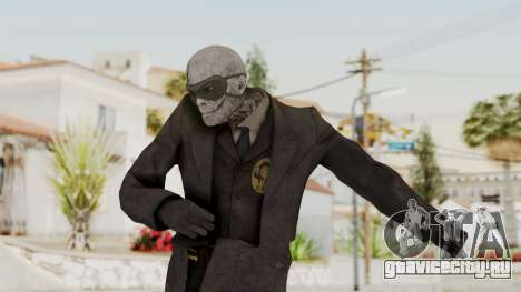 MGSV Phantom Pain SKULLFACE No Hat для GTA San Andreas