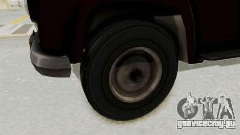 УАЗ-300 IVF для GTA San Andreas вид сзади