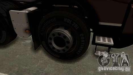 Volvo FMX Euro 5 8x4 v1.0 для GTA San Andreas вид сзади