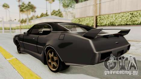 Clover Tunable для GTA San Andreas вид слева