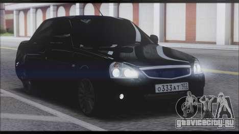 Lada Priora Sedan для GTA San Andreas