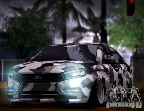 Lada Vesta Камуфляж для GTA San Andreas