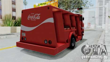 Ford P600 1964 Coca-Cola Delivery Truck для GTA San Andreas вид слева