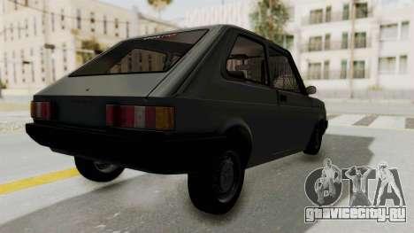 Fiat 147 Vivace для GTA San Andreas вид слева