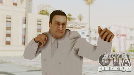 Taher Shah White Suit для GTA San Andreas