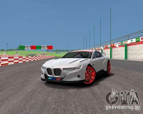 BMW 3.0 CSL Hommage R для GTA 4 вид сзади слева
