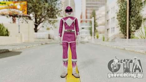 Mighty Morphin Power Rangers - Pink для GTA San Andreas второй скриншот